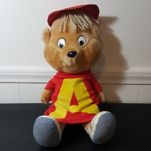 Alvin the Chipmunk vintage 1983